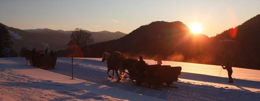 Winter-Kutschenfahrt